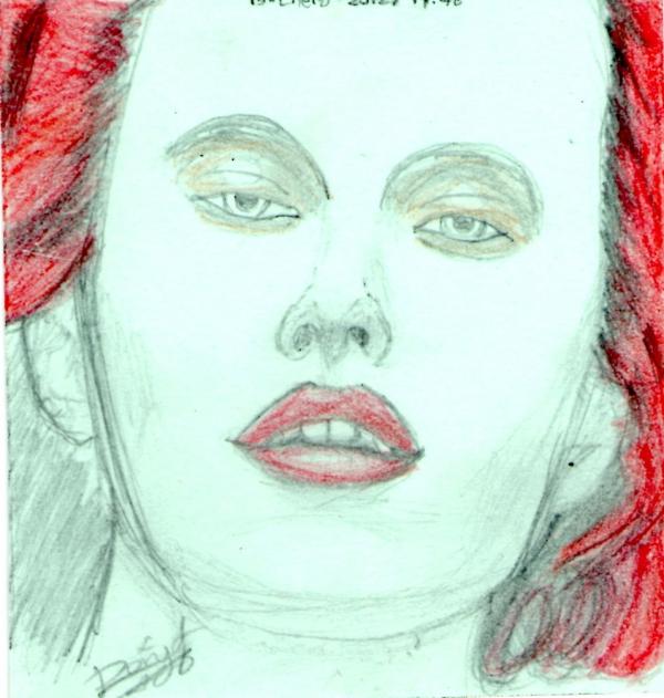 Karen Elson by DoryLBA